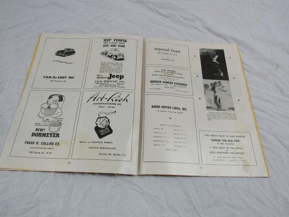 1948 6th Annual Shrine Circus Program - 3