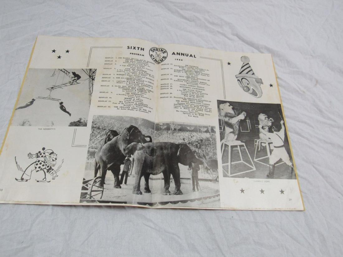 1948 6th Annual Shrine Circus Program - 4