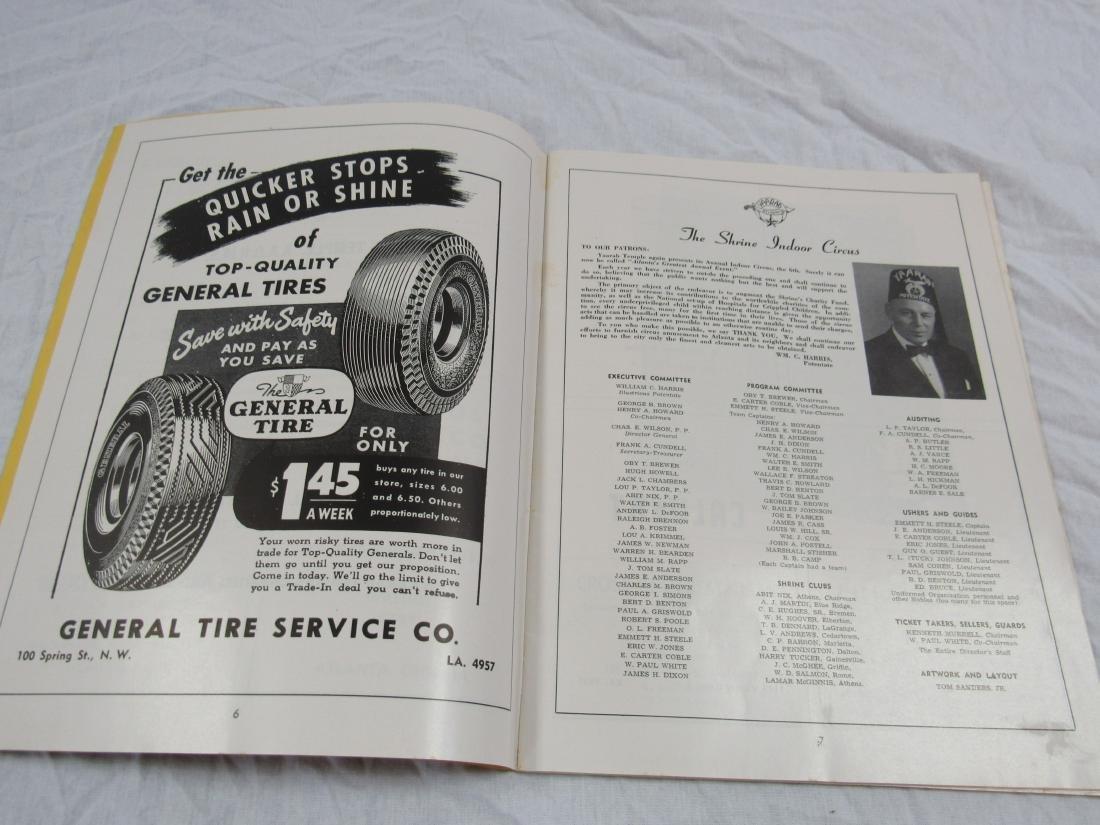 1948 6th Annual Shrine Circus Program - 6