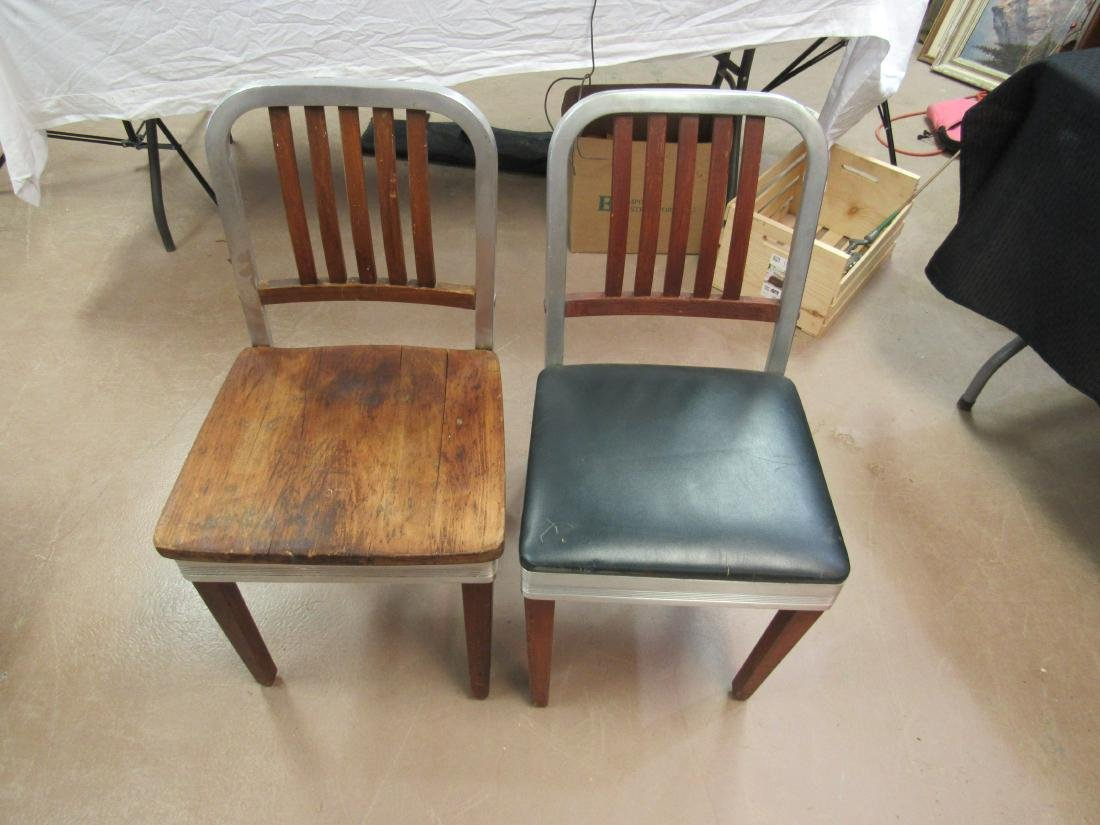 Mid-Century Shaw and Walker Chairs
