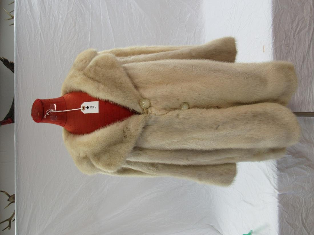 Miller's Fur Salon Mink Coat