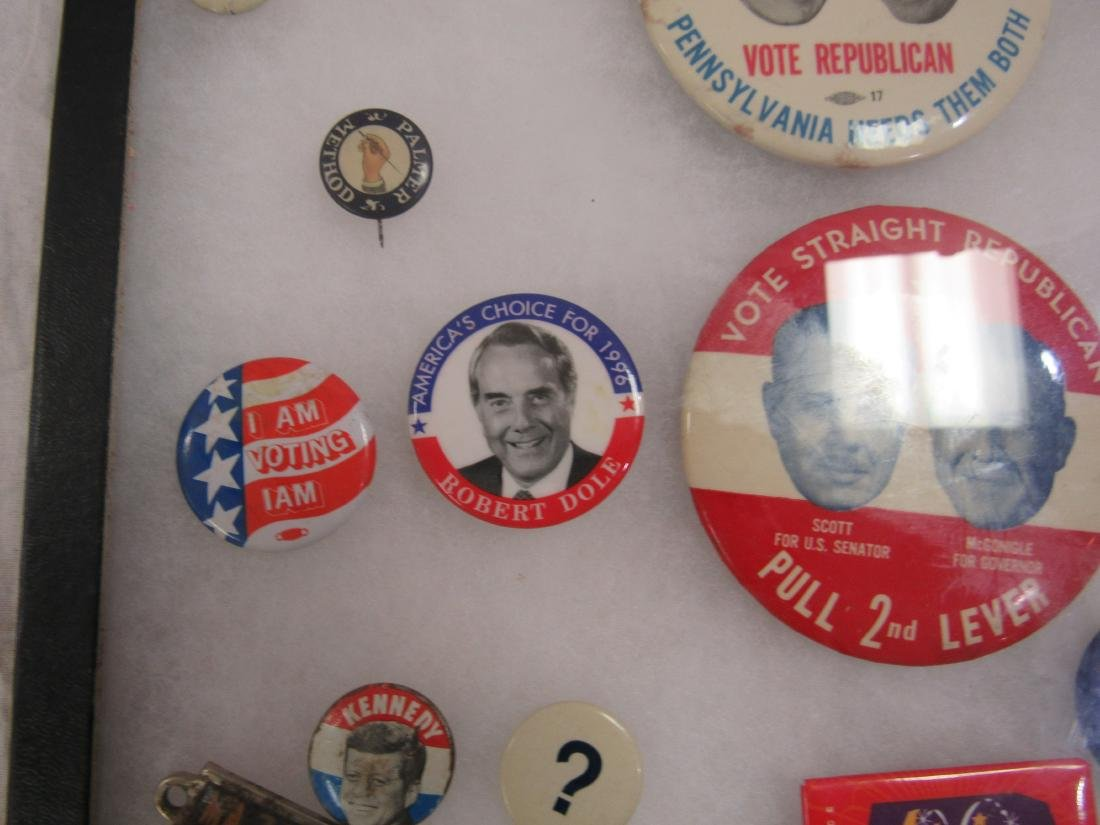 Lot of Political and Advertising Pins - 2