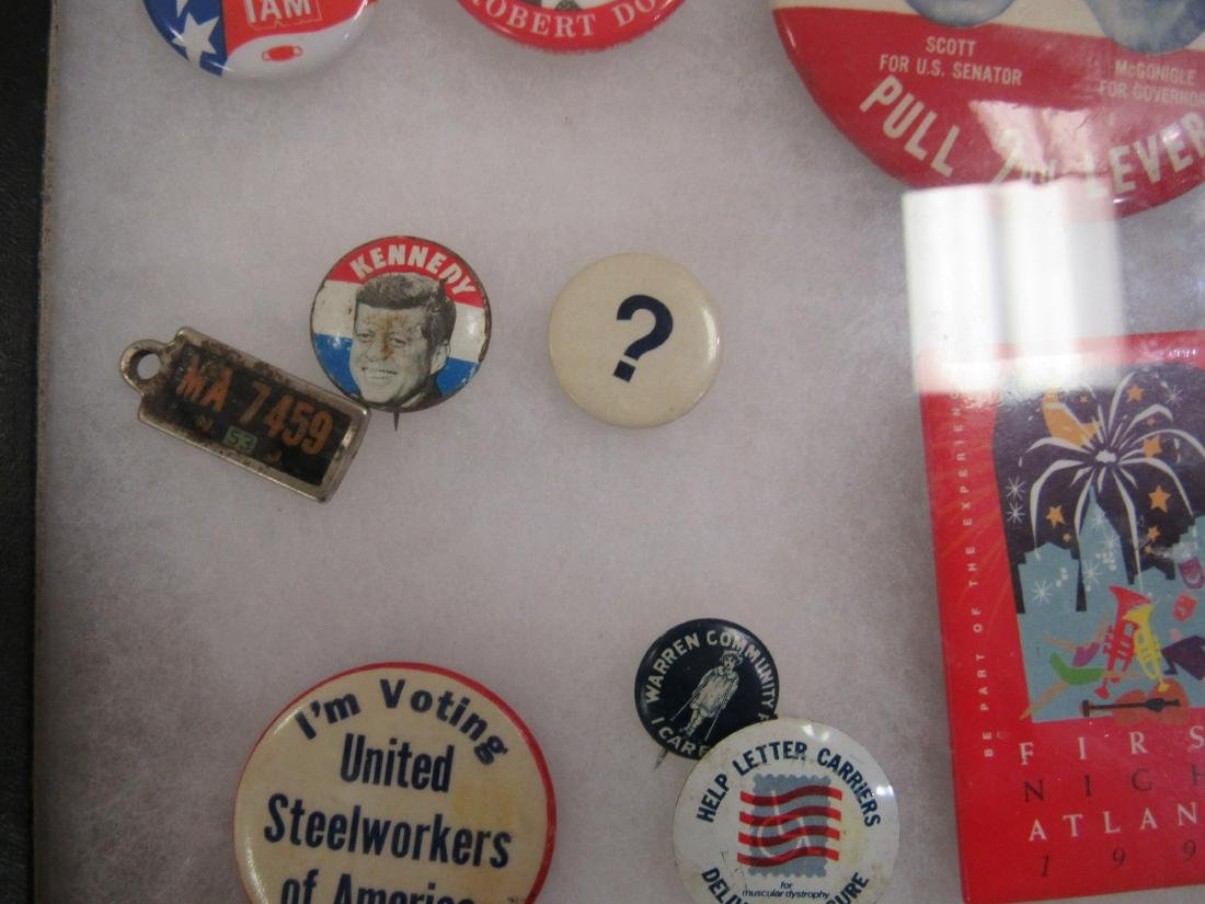 Lot of Political and Advertising Pins - 3