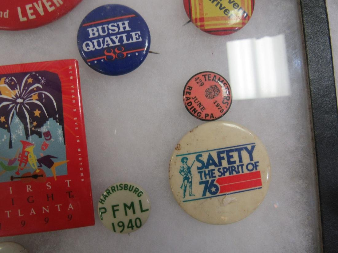 Lot of Political and Advertising Pins - 4
