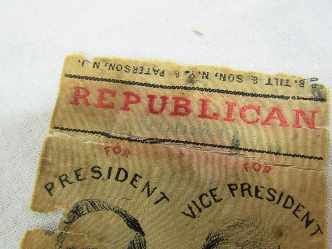 1876 R B Hayes Political Ribbon - 6