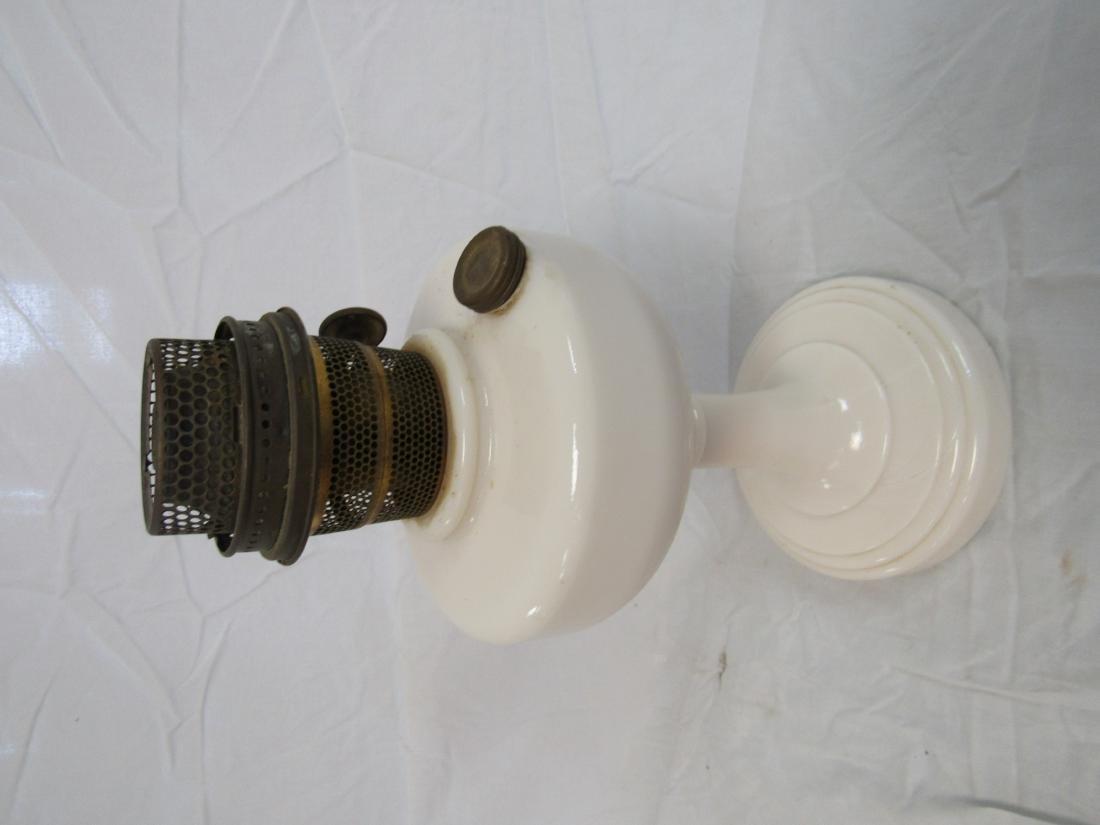Model B Milk Glass Aladdin Lamp