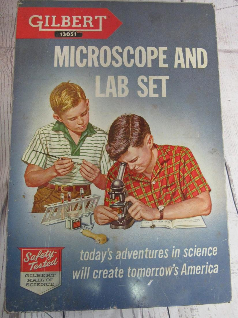 Gilbert Microscope and Lab Set