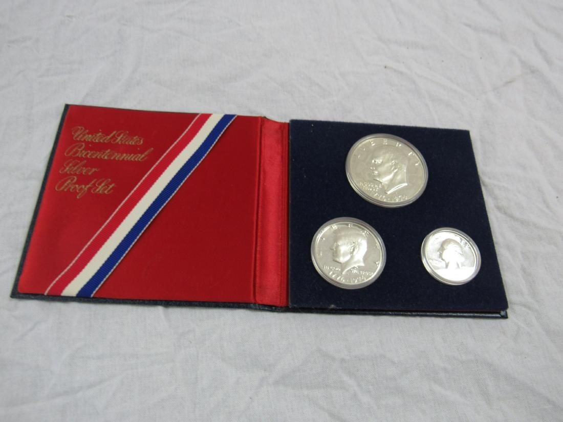 1976 US Bi-Centennial Silver Proof Set