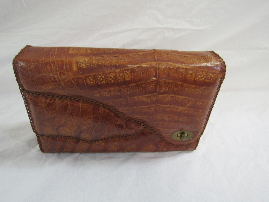 Vintage Genuine Alligator Purse by S & S