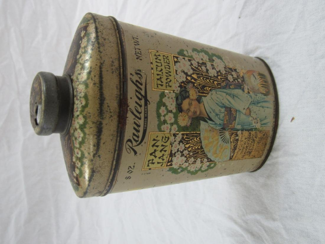 Rawlegh's Tan-Jang Talcum Powder Tin - 2