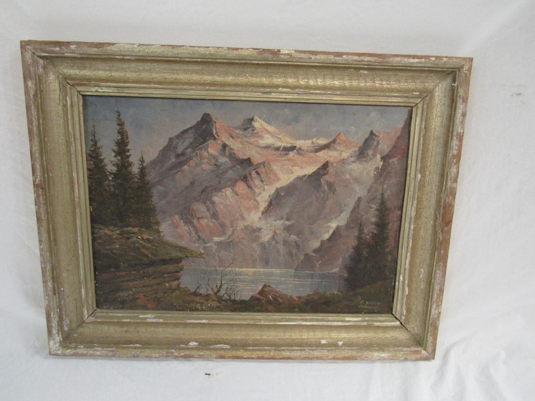 Antique Oil on Canvas, Landscape