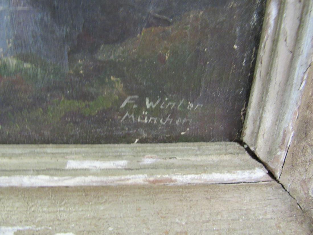 Antique Oil on Canvas, Landscape - 3