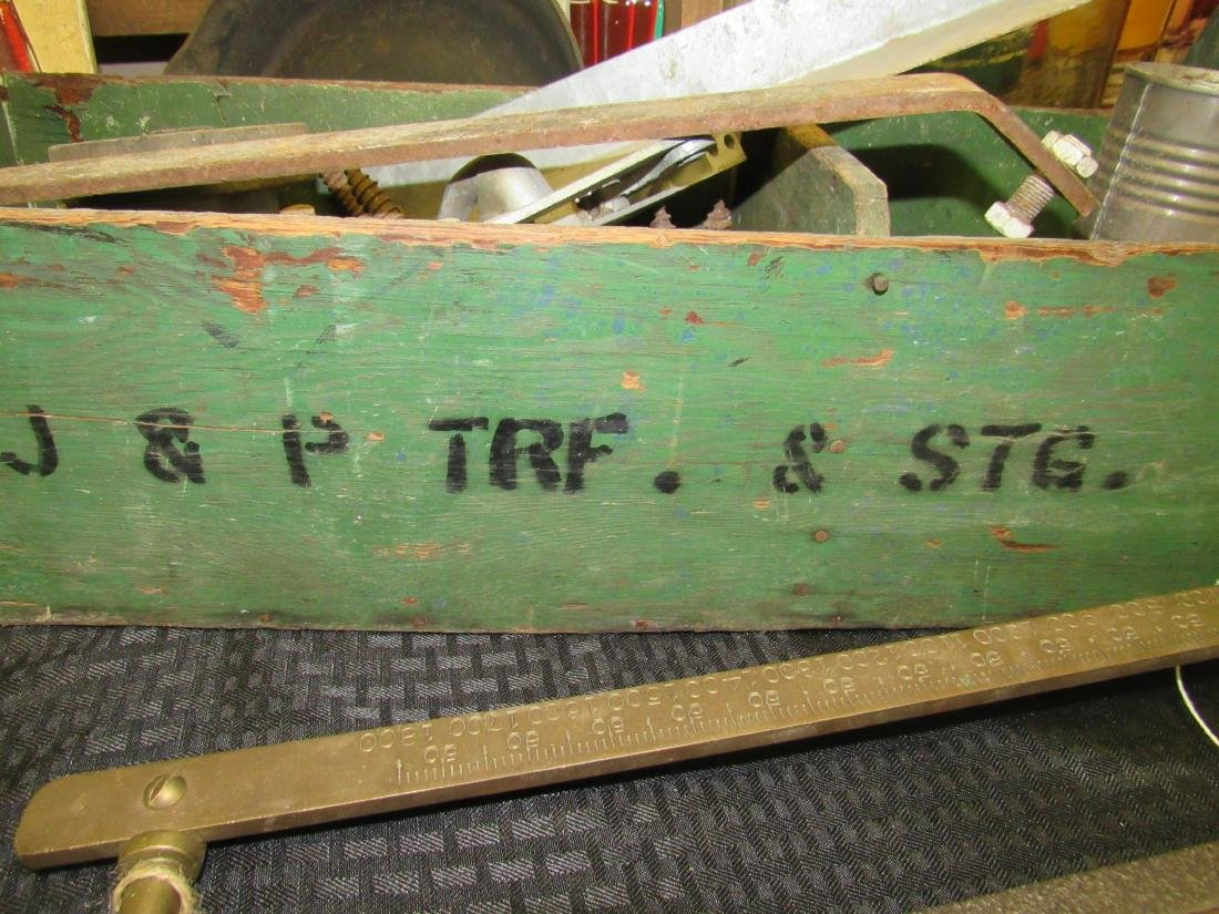 Vintage Wooden Tool Box - 2