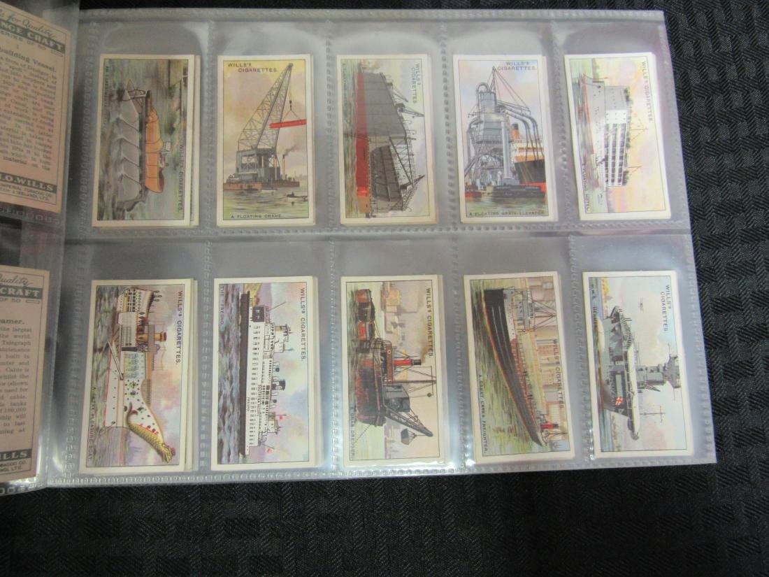 Set of 50 1931 Strange Craft Cigarette Cards - 2