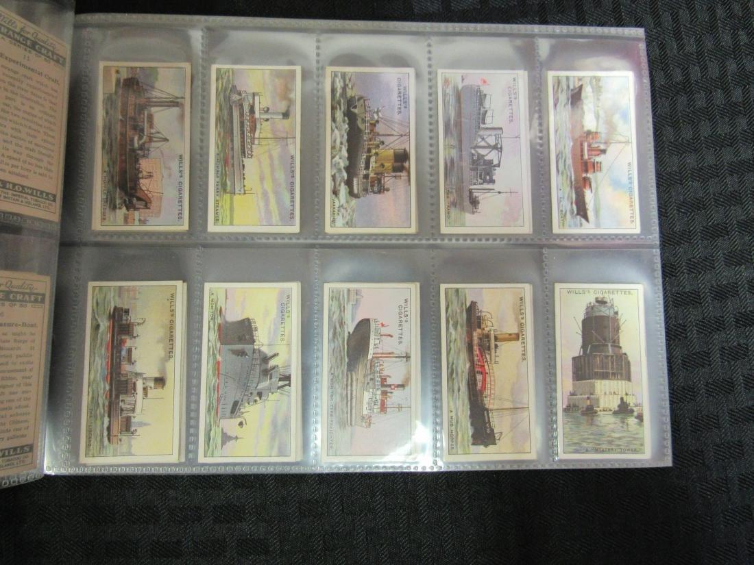 Set of 50 1931 Strange Craft Cigarette Cards - 3