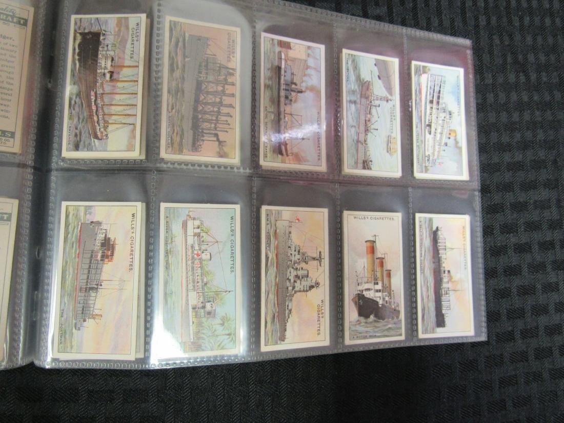 Set of 50 1931 Strange Craft Cigarette Cards - 4