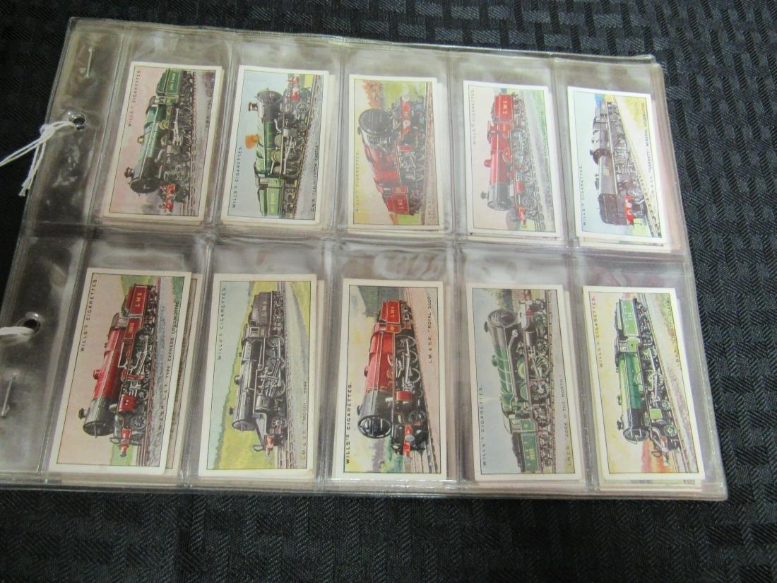 Set of 50 1930 Railway Locomotives Cigarette Cards