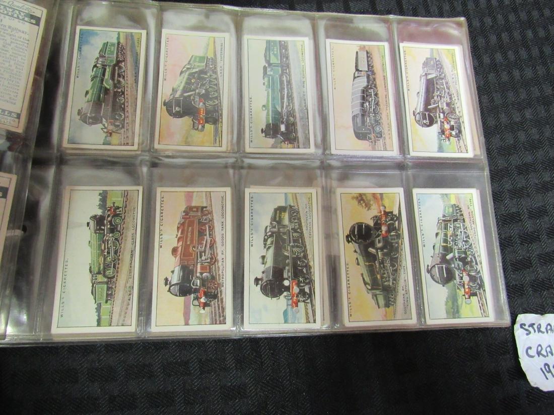 Set of 50 1930 Railway Locomotives Cigarette Cards - 2