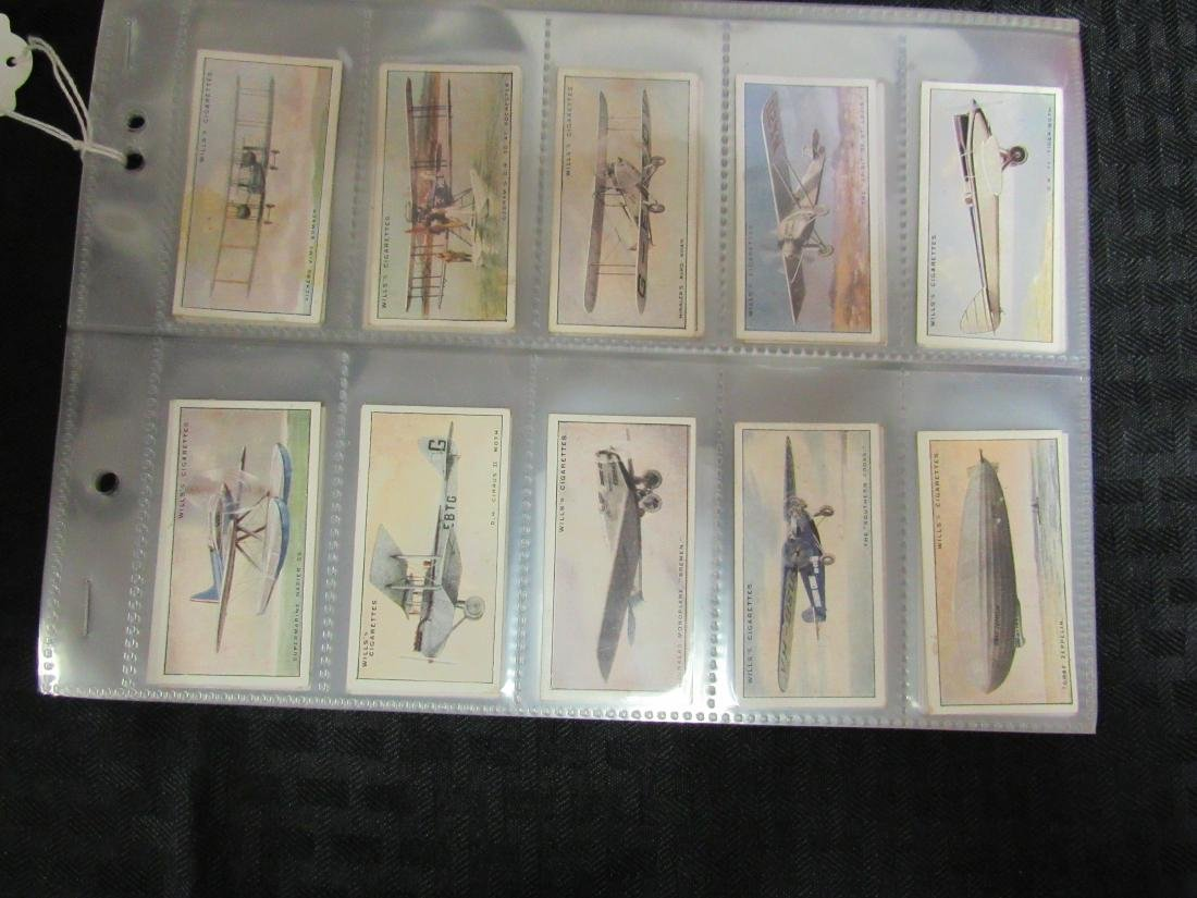 Set of 50 1938 Speed Cigarette Cards