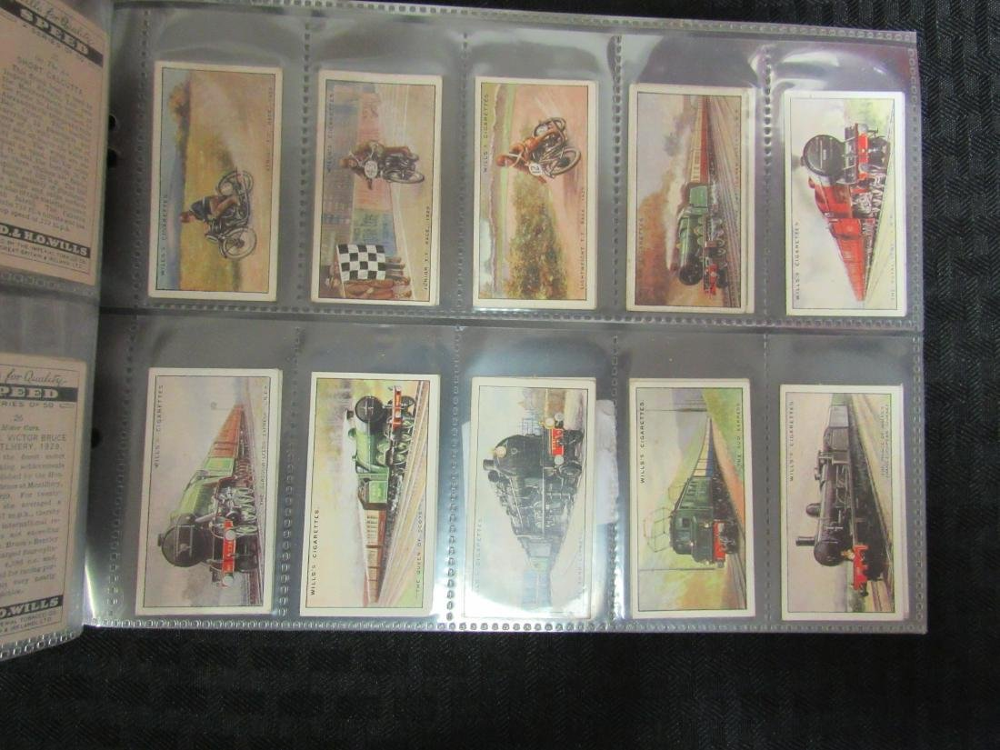 Set of 50 1938 Speed Cigarette Cards - 4