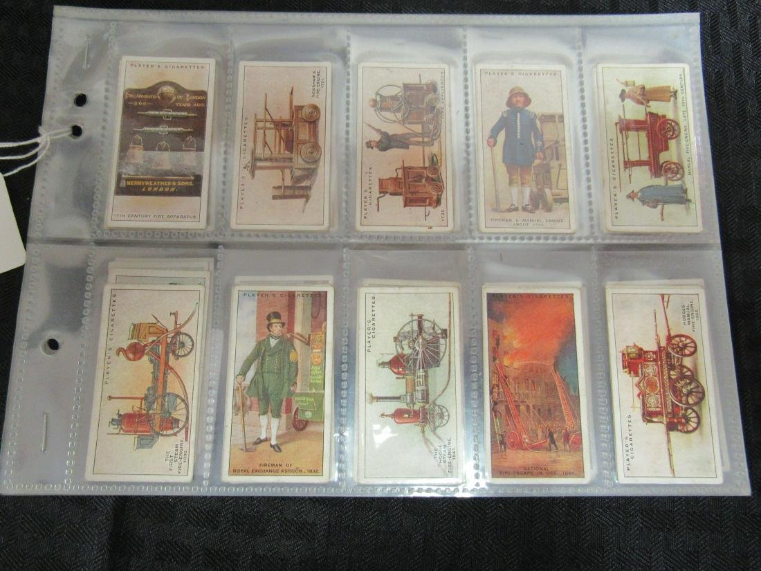 Set of 50 Fire Fighting Appliances Cigarette Cards