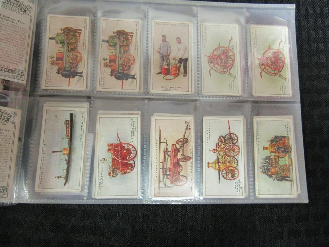 Set of 50 Fire Fighting Appliances Cigarette Cards - 2