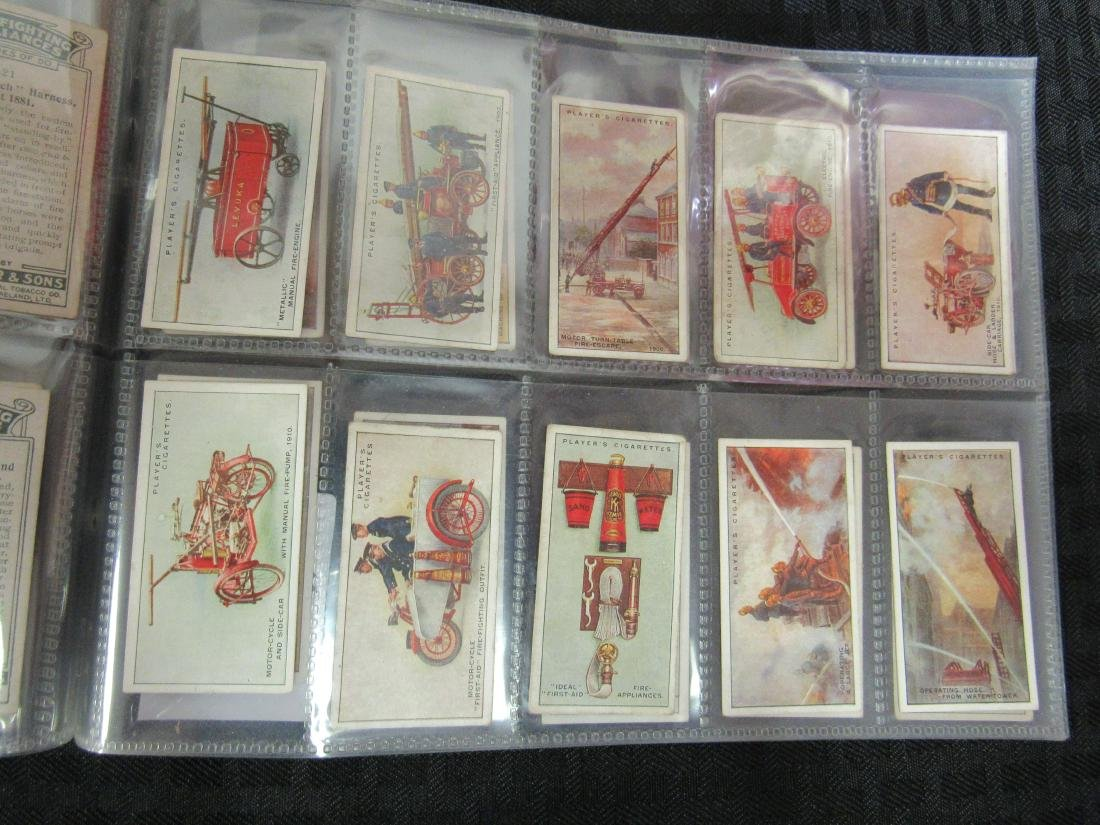 Set of 50 Fire Fighting Appliances Cigarette Cards - 4