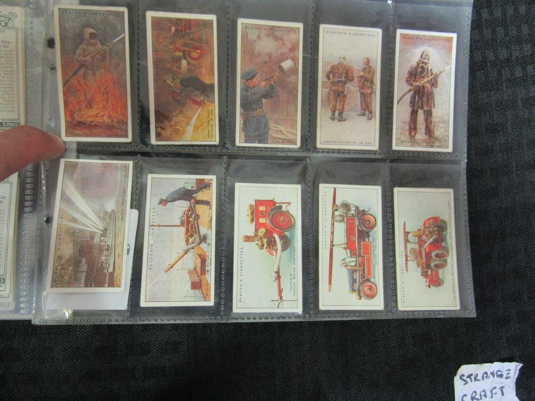 Set of 50 Fire Fighting Appliances Cigarette Cards - 5