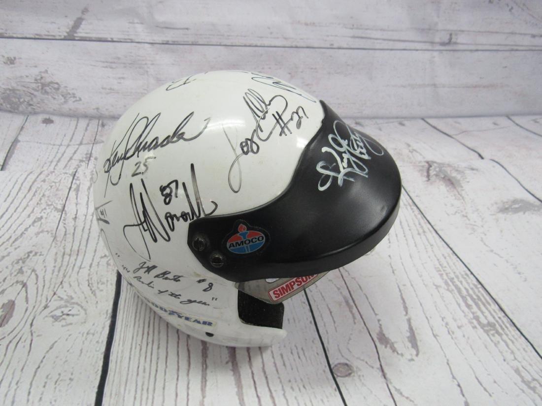 Nascar Signed Mini Helmet