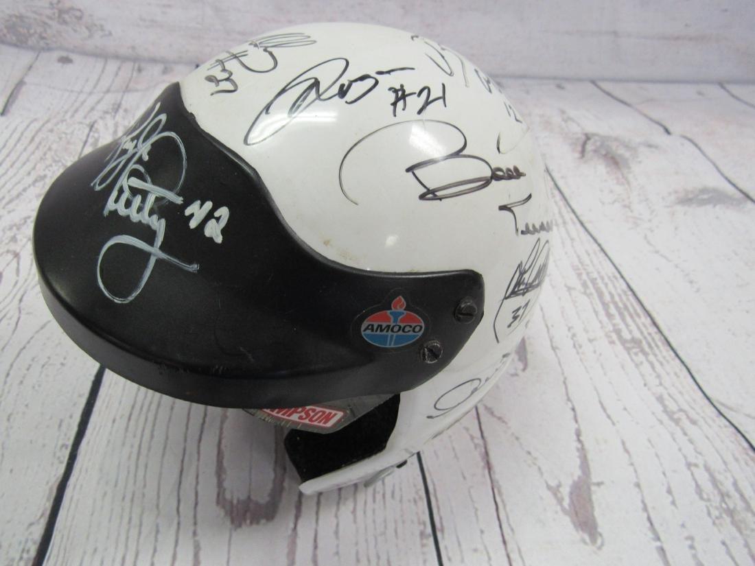Nascar Signed Mini Helmet - 2