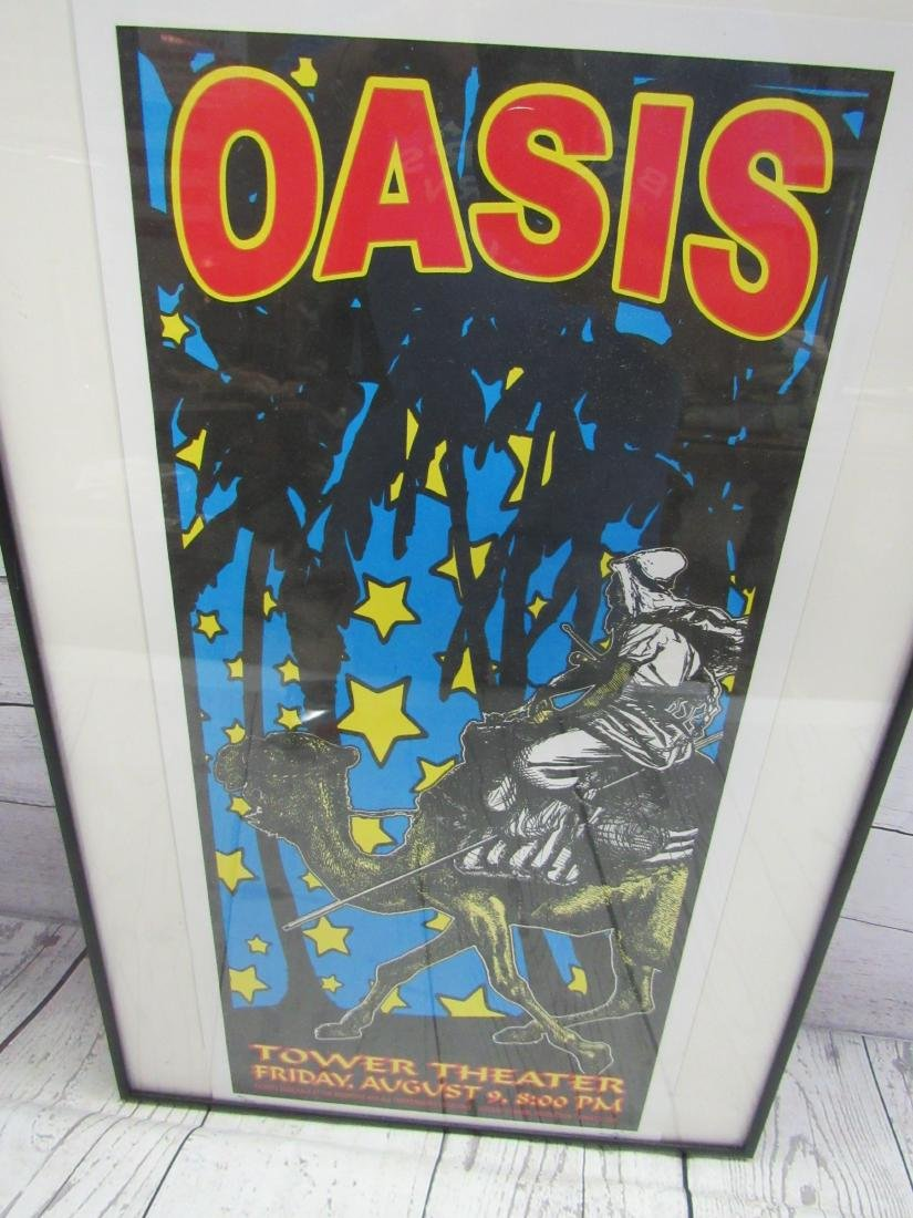 Oasis Concert Promotional Poster - 2
