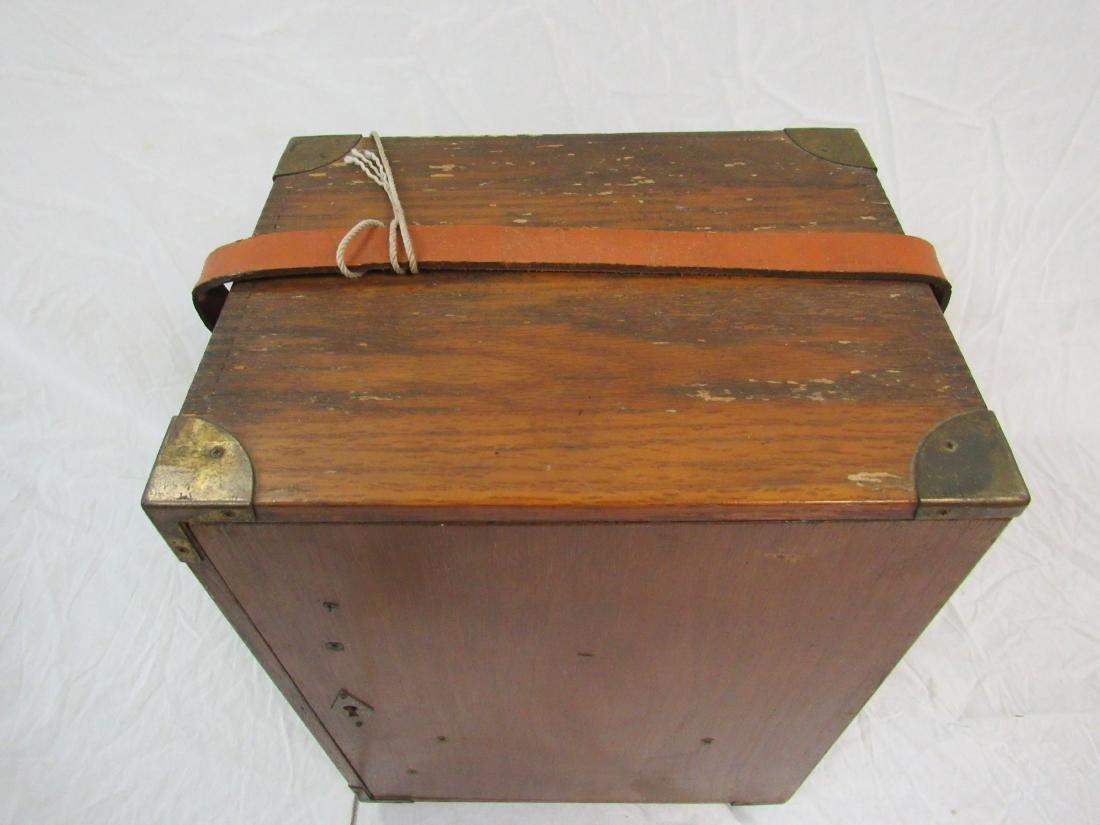 Handmade Folk Art Box - 2