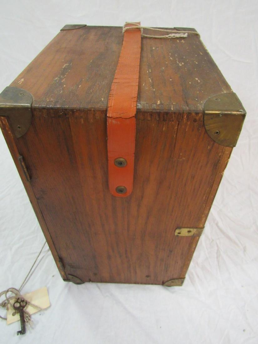 Handmade Folk Art Box - 3