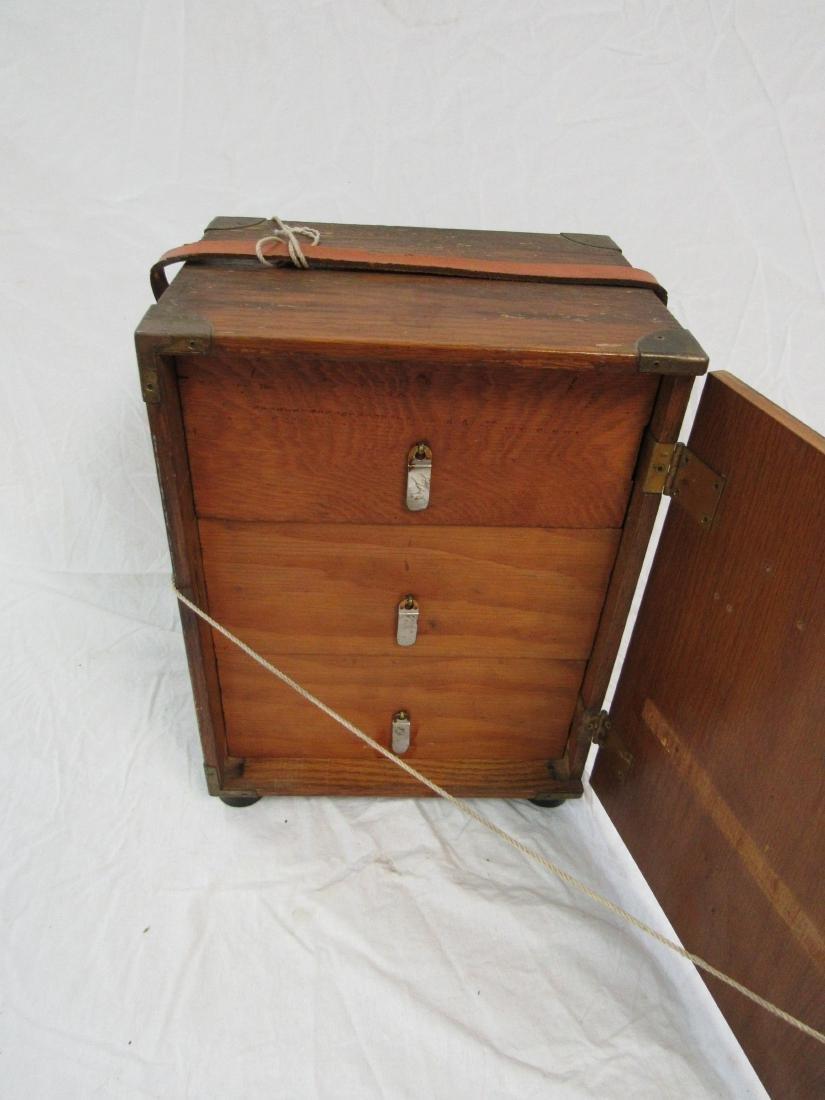 Handmade Folk Art Box - 4