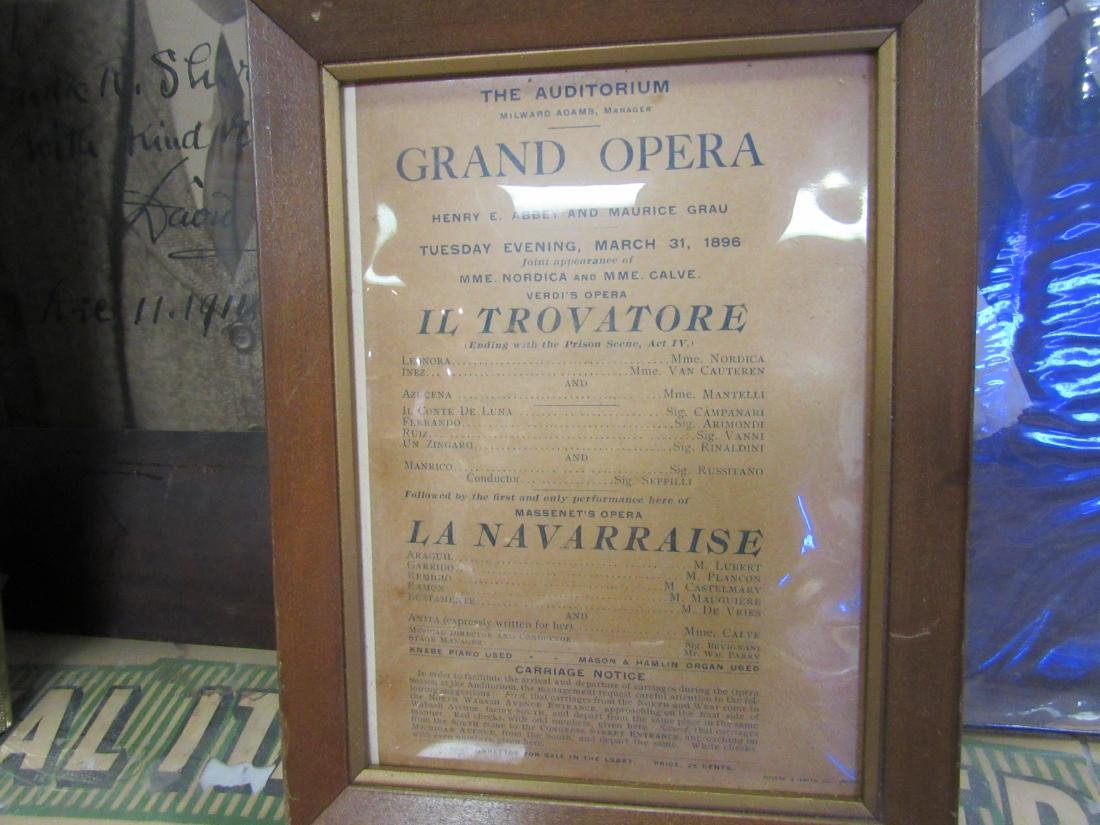 Large Lot of Antique Opera Memorabilia - 3