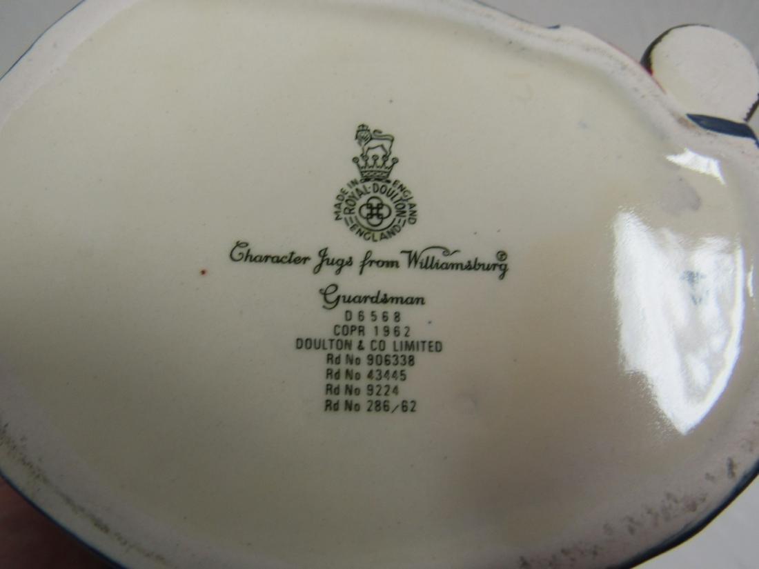 Royal Doulton Toyb Mug, Guardsman - 3