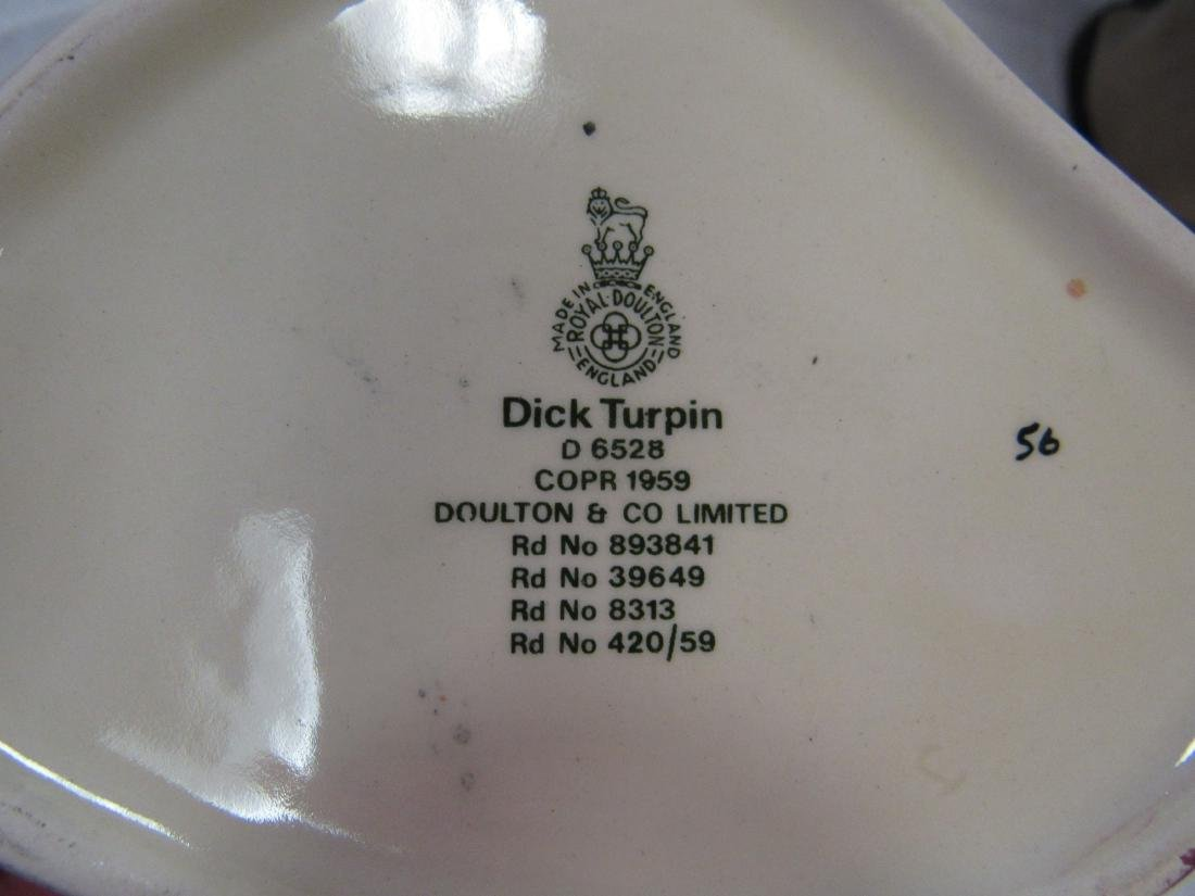 Royal Doulton Toby Mug, Dick Terpin - 3
