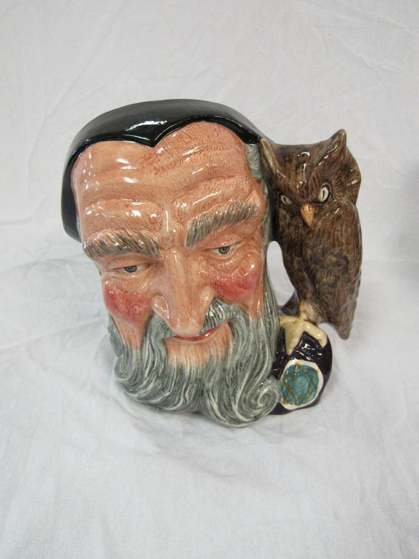 Royal Doulton Toby Mug, Merlin