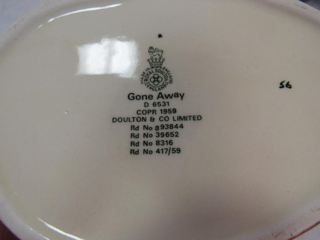 Royal Doulton Toby Mug, Gone Away - 3