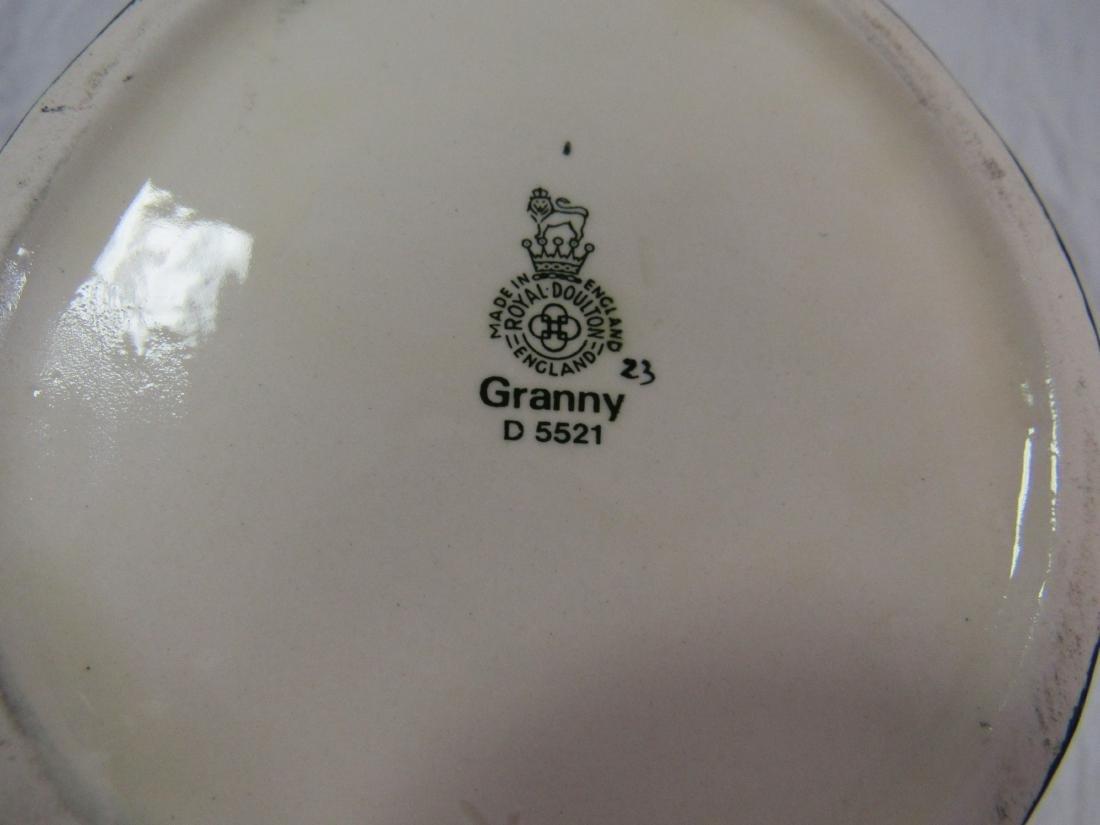 Royal Doulton Toby Mug, Granny - 3