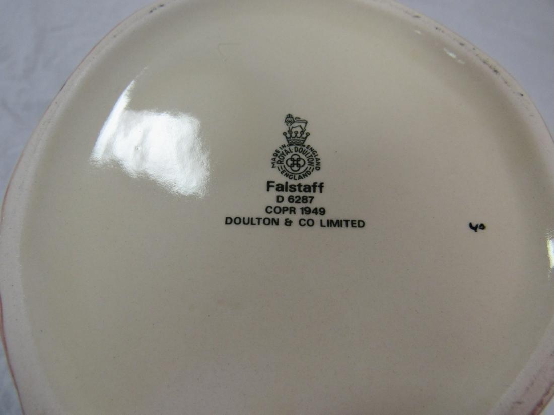 Royal Doulton Toby Mug, Falstaff - 3