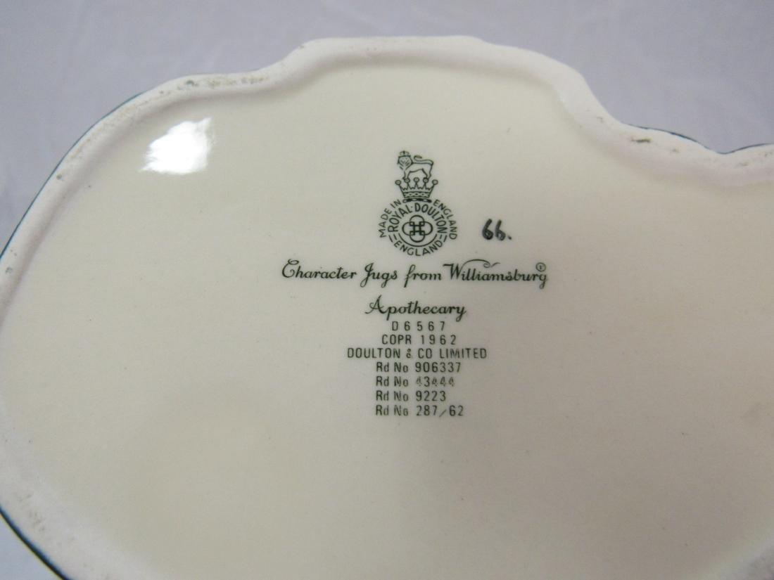 Royal Doulton Toby Mug, Apothecary - 3