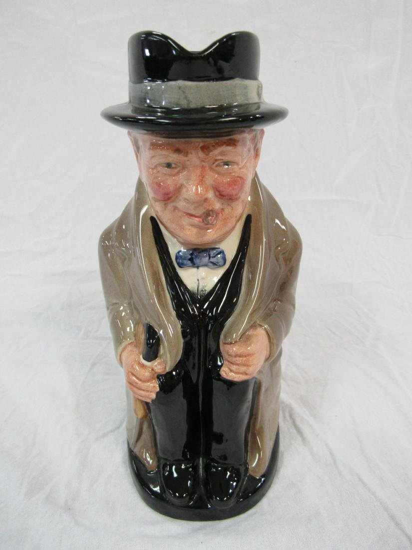 Royal Doulton Toby Mug, Winston Churchill