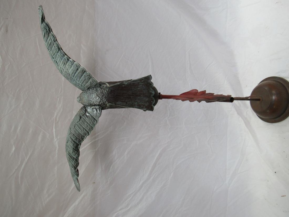 Antique Copper Eagle Weathervane - 5