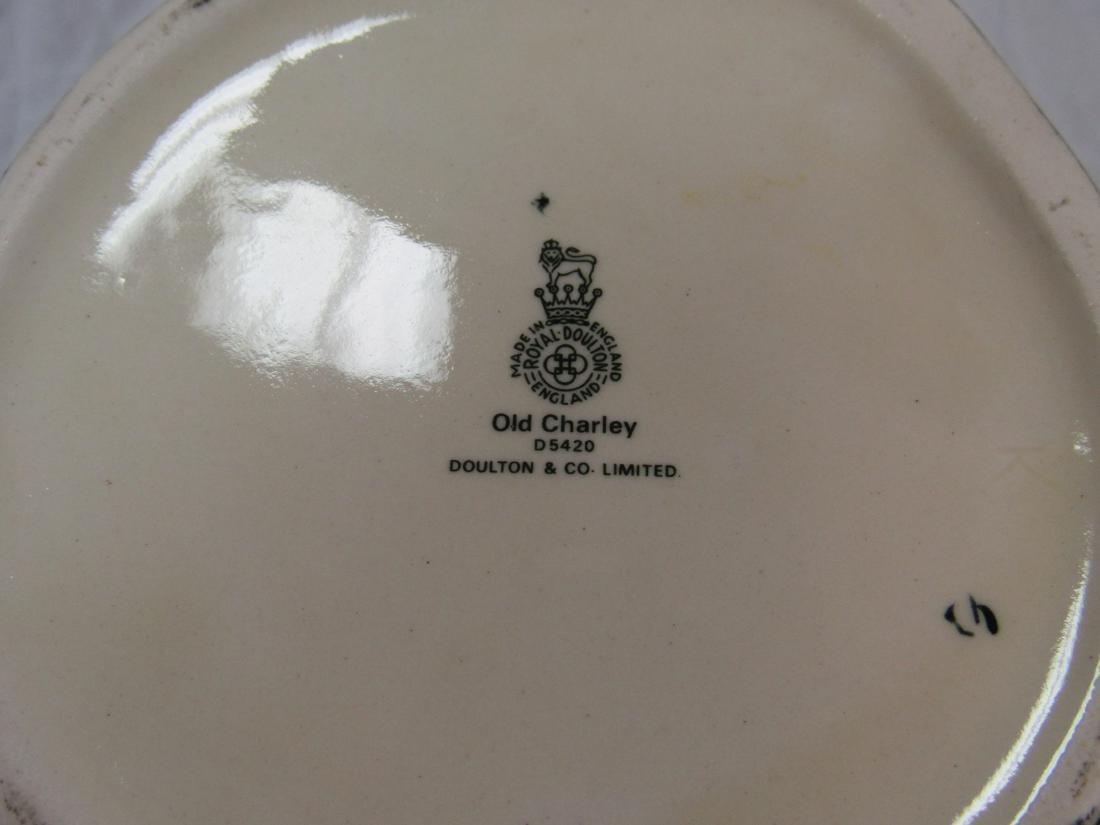 Royal Doulton Toby Mug, Old Charlie - 3