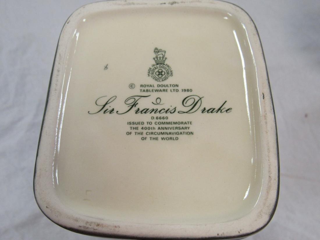 Royal Doulton Toby Mug, Sir Francis Drake - 3