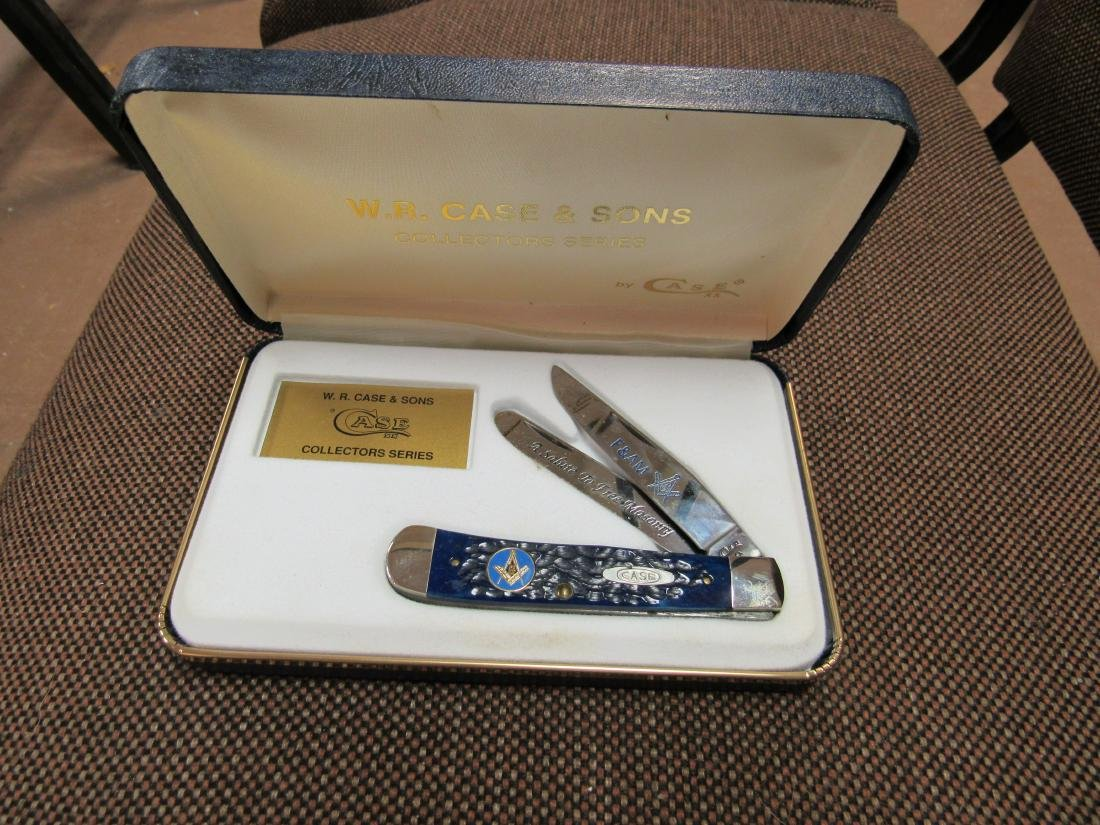 W.R. Case & Sons Collectors Series Free Mason Knife