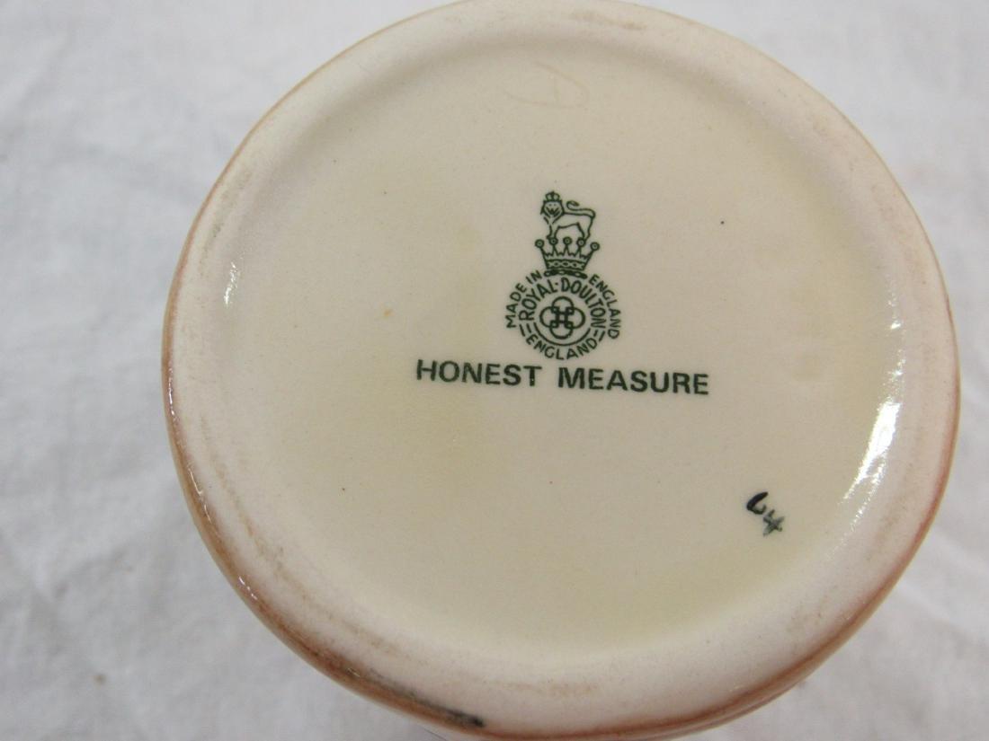 Royal Doulton Toby Mug, Honest Measure - 3