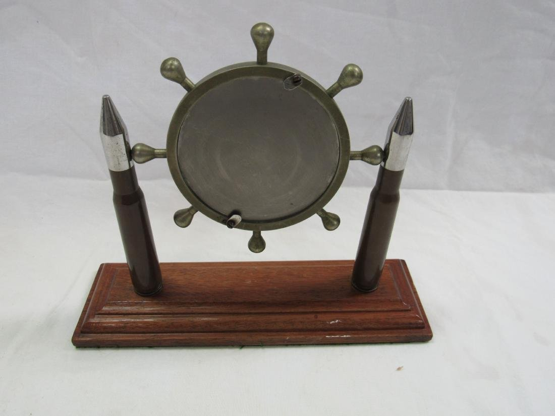 Vintage Trench Art Desk Mirror - 2