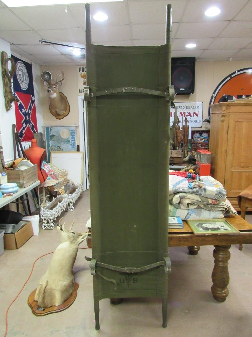 WWII Era US Army Stretcher - 2